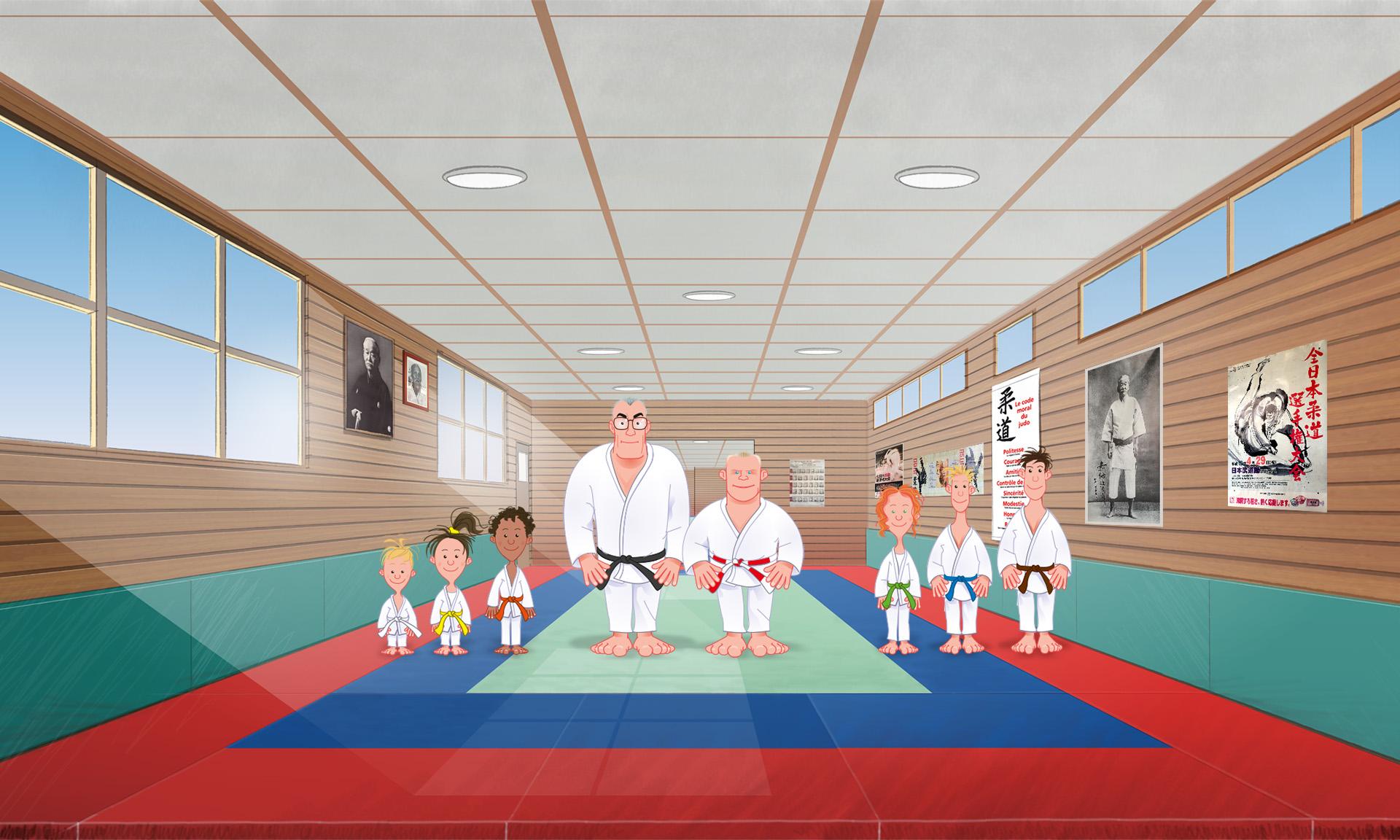 Le dojo Ryokan - Judo Club de Lavaur