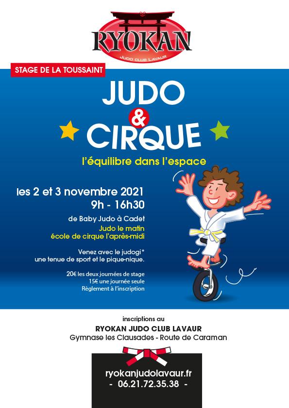 Stage Judo & Cirque