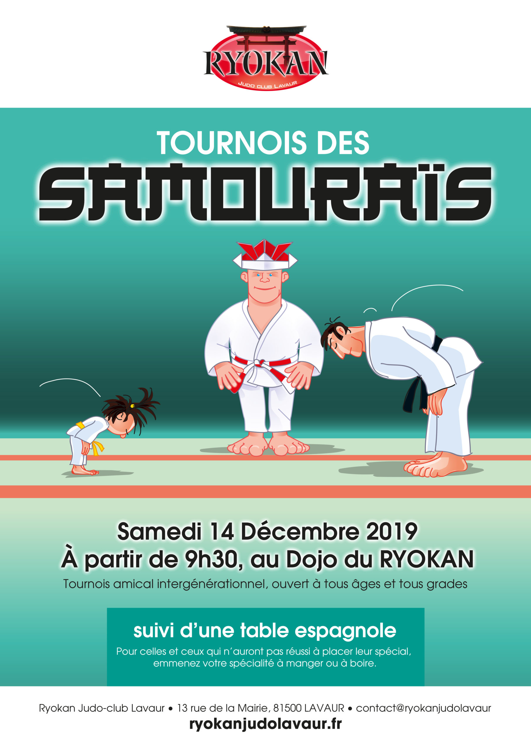 Tournoi des Samouraïs 2019